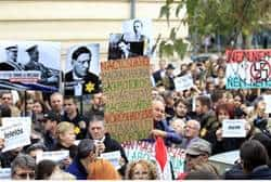 Hungarians Protest Holocaust Whitewash